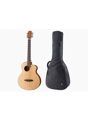 ANUENUE M10EF - FEATHER BIRD TRAVELLER SOLID TOP ACOUSTIC