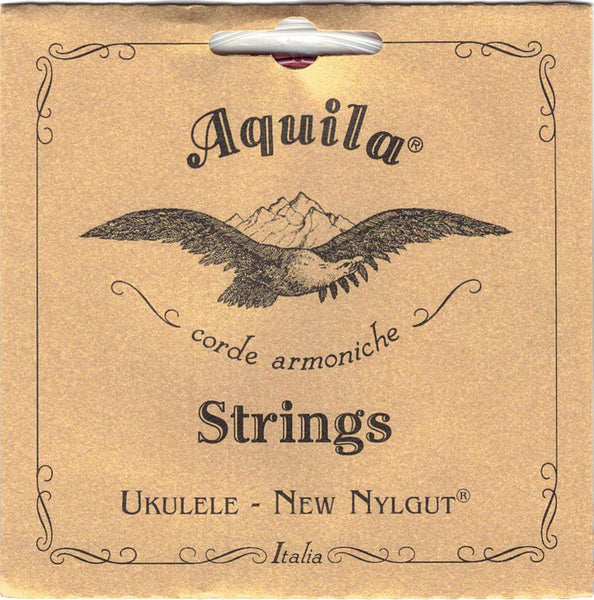 AQUILA UKULELE STRINGS NEW NYLGUT - TENOR