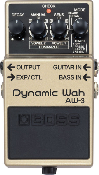 BOSS AW-3 - DYNAMIC WAH