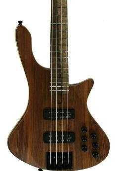 COLE CLARK LONG LADY 4-STRING MAPLE/BLACKWOOD - NATURAL