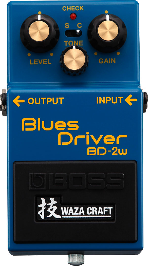 BOSS BD-2W - BLUES DRIVER (WAZA CRAFT)