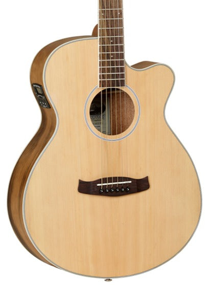 TANGLEWOOD SUPERFOLK EXOTIC TDBTSFCEPE - PACIFIC WALNUT