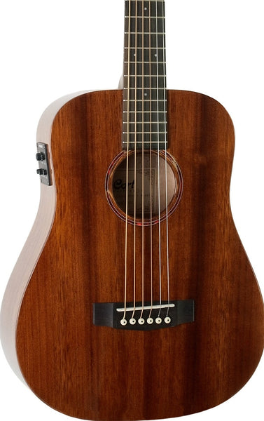 CORT EARTH MINI ALL BLACKWOOD TRAVEL ACOUSTIC