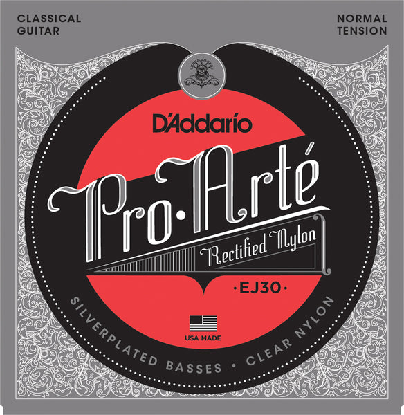 D'ADDARIO PRO ARTE CLASSICAL RECTIFIED NYLON - NORMAL TENSION EJ30