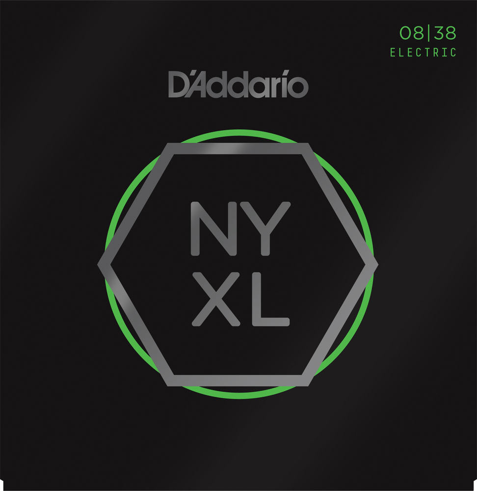 D'ADDARIO ELECTRIC NYXL NICKEL WOUND - 8-38 X-SUPER LIGHT