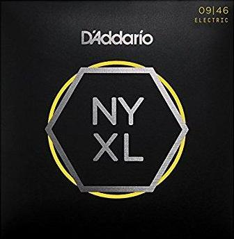 D'ADDARIO ELECTRIC NYXL NICKEL WOUND - 9-46 SUPER LIGHT/REG