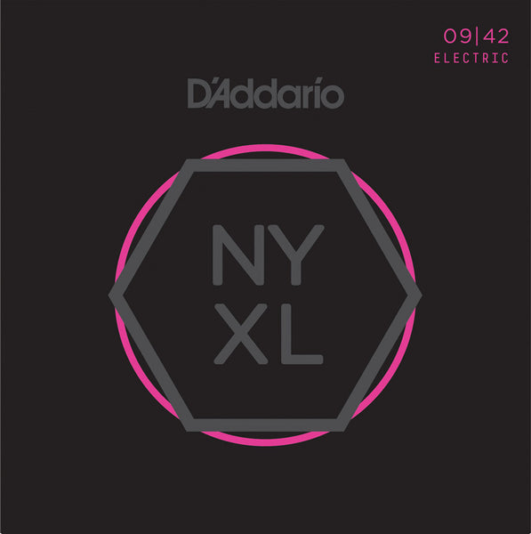 D'ADDARIO ELECTRIC NYXL NICKEL WOUND - 9-42 SUPER LIGHT