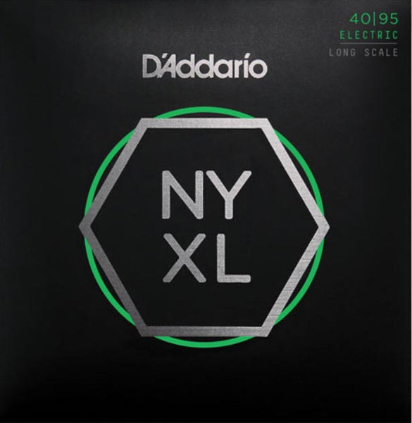 D'ADDARIO BASS NYXL NICKEL WOUND - 40-95 SUPER LIGHT