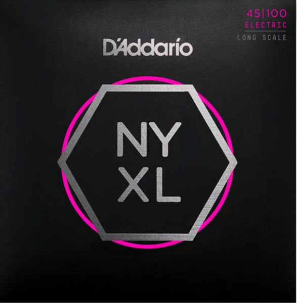 D'ADDARIO BASS NYXL NICKEL WOUND - 45-100 LIGHT