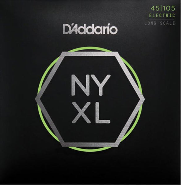 D'ADDARIO BASS NYXL NICKEL WOUND - 45-105 LIGHT/MED
