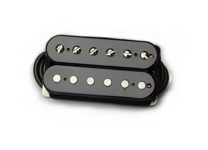 BARE KNUCKLE PICKUPS BOOT CAMP HB - OLD GUARD SET - OPEN BLACK