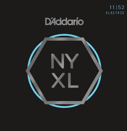 D'ADDARIO ELECTRIC NYXL NICKEL WOUND - 11-52 MED/HEAVY