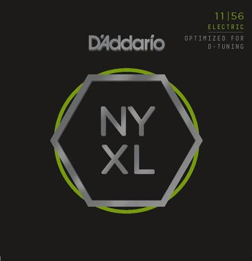 D'ADDARIO ELECTRIC NYXL NICKEL WOUND - 11-56 MED/X-HEAVY