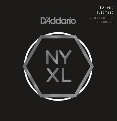 D'ADDARIO ELECTRIC NYXL NICKEL WOUND - 12-60 EXTRA HEAVY