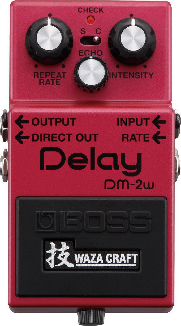 BOSS DM-2W - ANALOG DELAY (WAZA CRAFT)