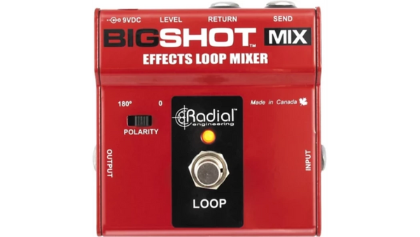 RADIAL TONEBONE BIGSHOT MIX - EFFECTS LOOP MIXER