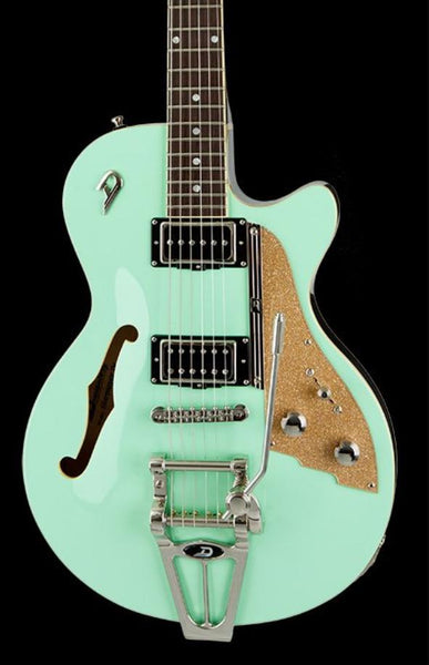 DUESENBERG STARPLAYER TV - SURF GREEN IN FORMFIT CUSTOM CASE