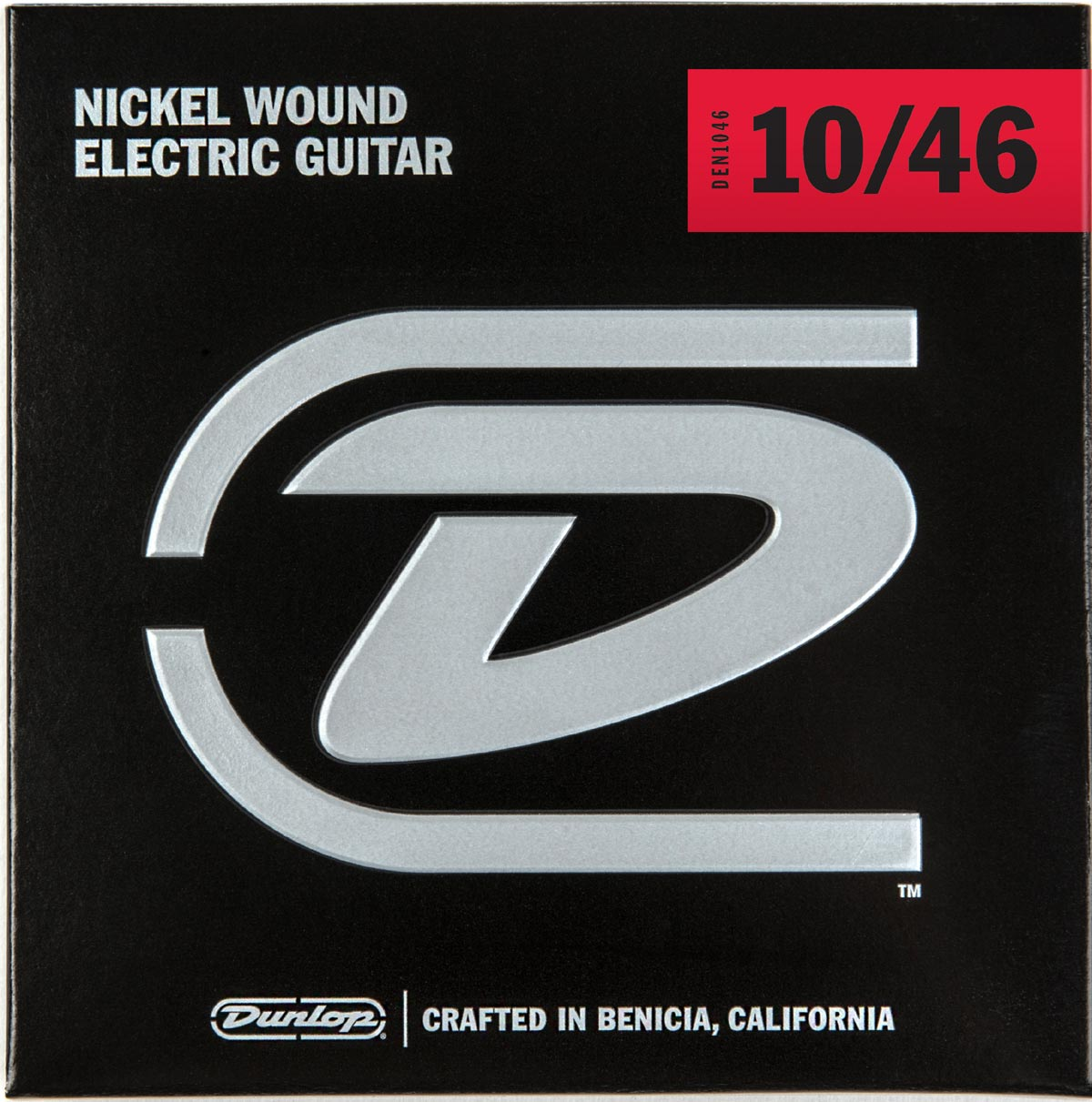 DUNLOP NICKEL WOUND ELECTRIC STRINGS - 10-46