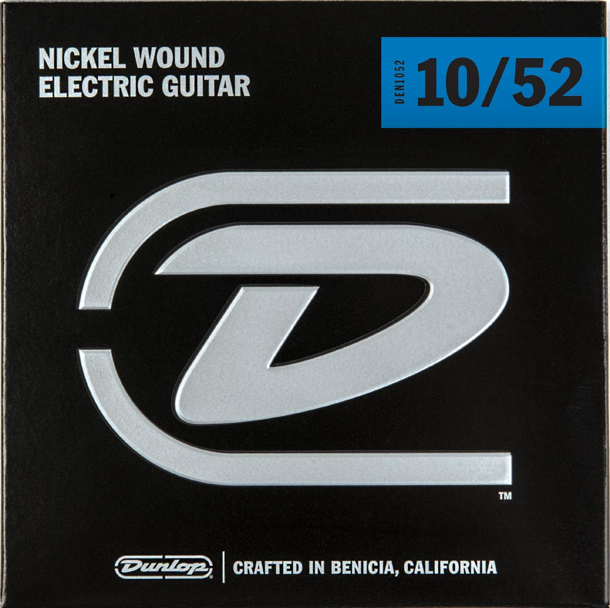 DUNLOP NICKEL WOUND ELECTRIC STRINGS - 10-52