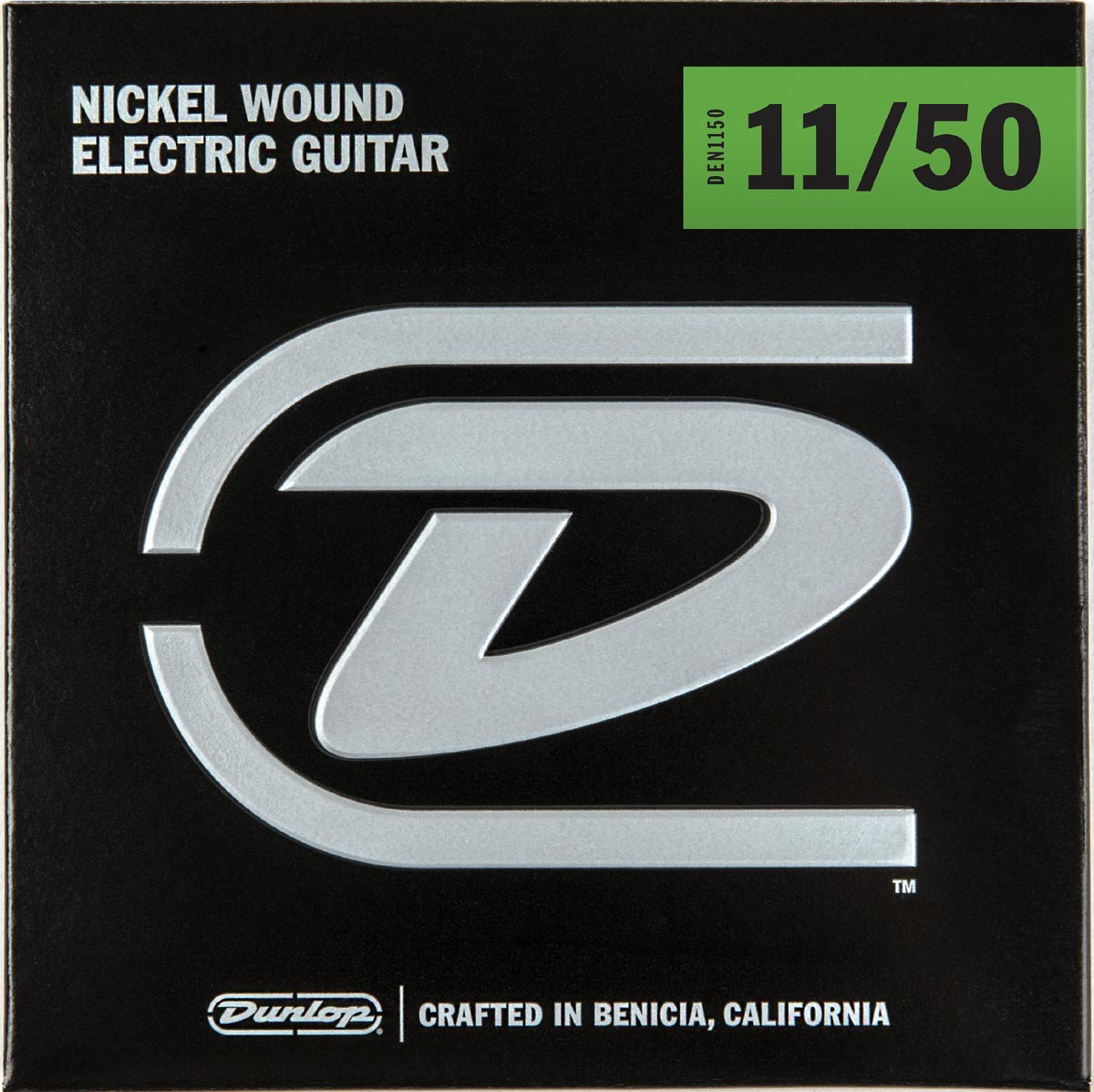 DUNLOP NICKEL WOUND ELECTRIC STRINGS - 11-50