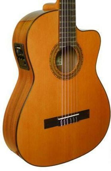 ESTEVE GAMBERRO - CEDAR TOP CLASSICAL WITH PICKUP