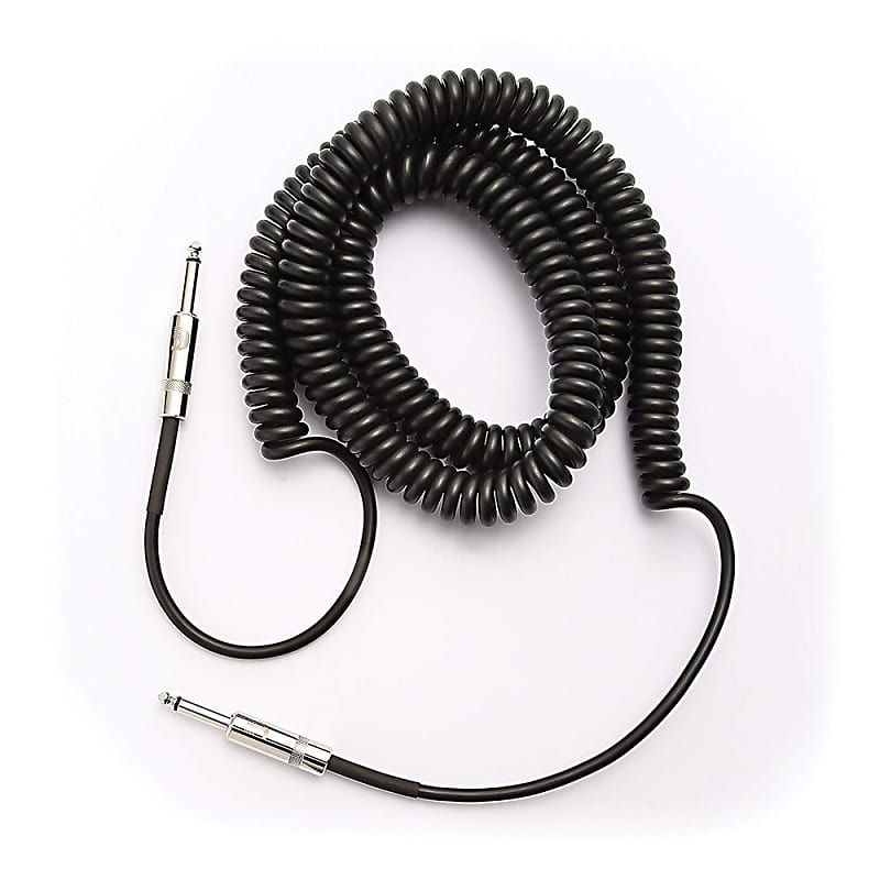 PLANET WAVES 30FT COILED INSTRUMENT CABLE