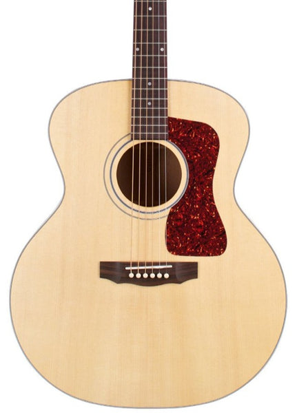 GUILD USA F-40 SOLID JUMBO ACOUSTIC WITH HARD CASE