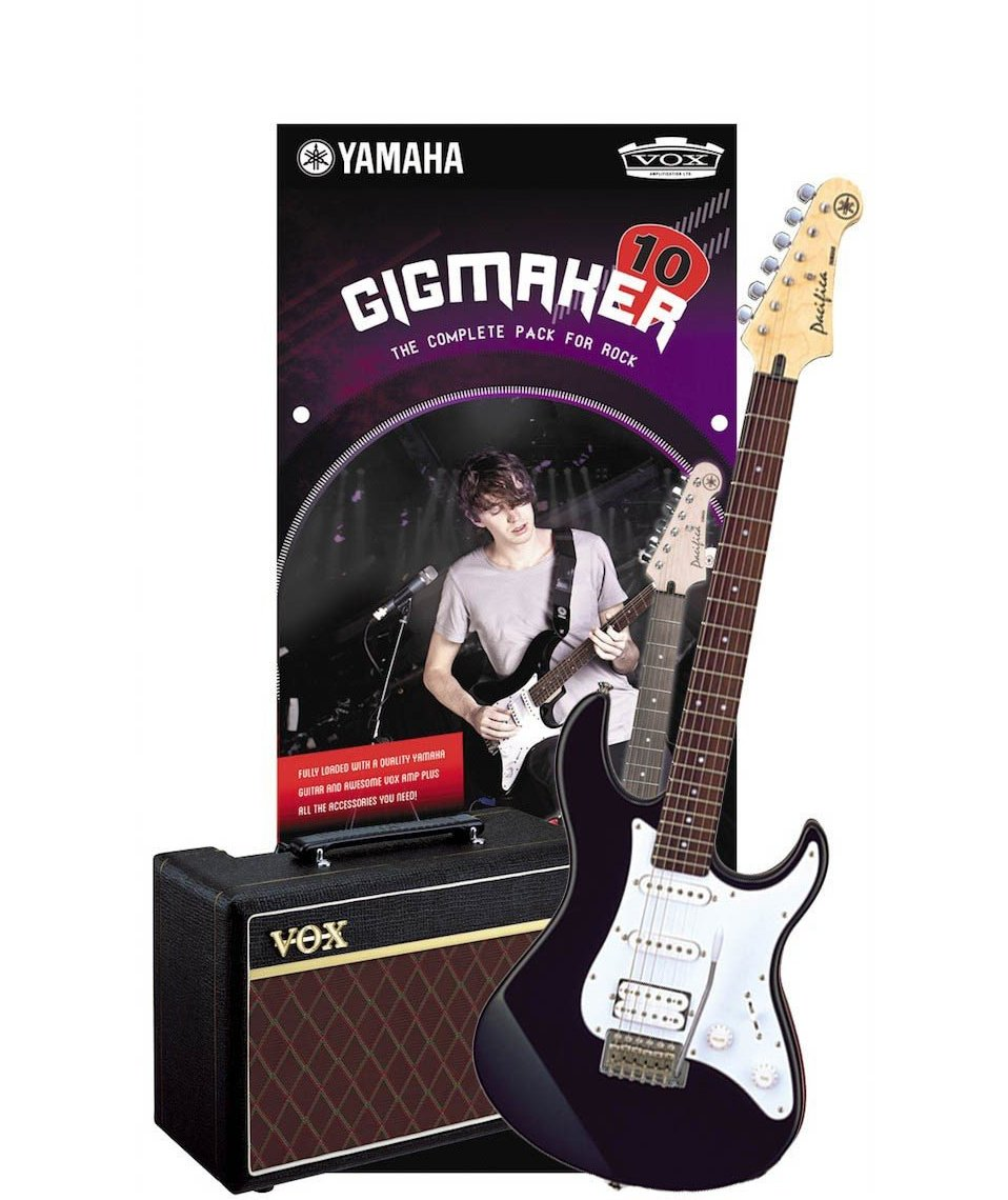 YAMAHA GIGMAKER 10 PACIFICA PACK BLACK