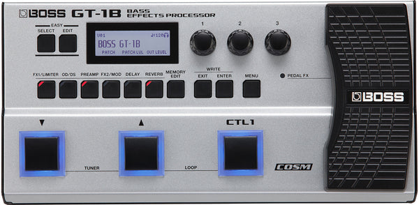 BOSS GT-1B - BASS EFFECTS PROCESSOR