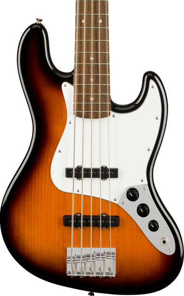 SQUIER AFFINITY SERIES JAZZ BASS V (5-STRING) - BROWN SUNBURST
