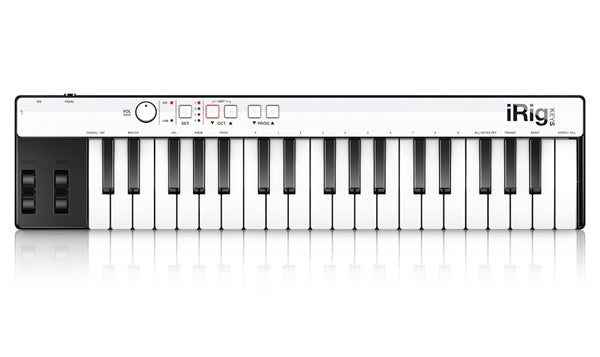 IK MULTIMEDIA iRIG KEYS - 37 KEY UNIVERSAL MINI KEYBOARD CONTROLLER
