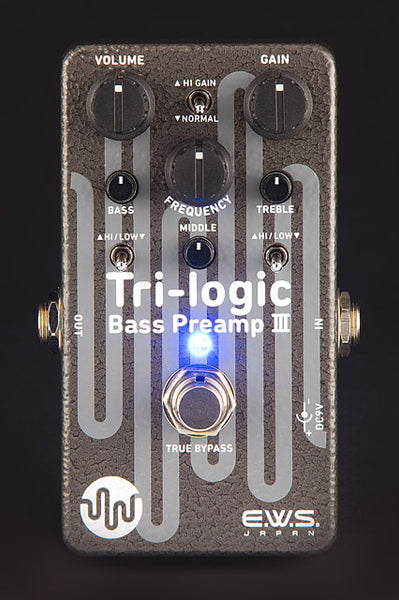 EWS TRI-LOGIC BASS PREAMP 3