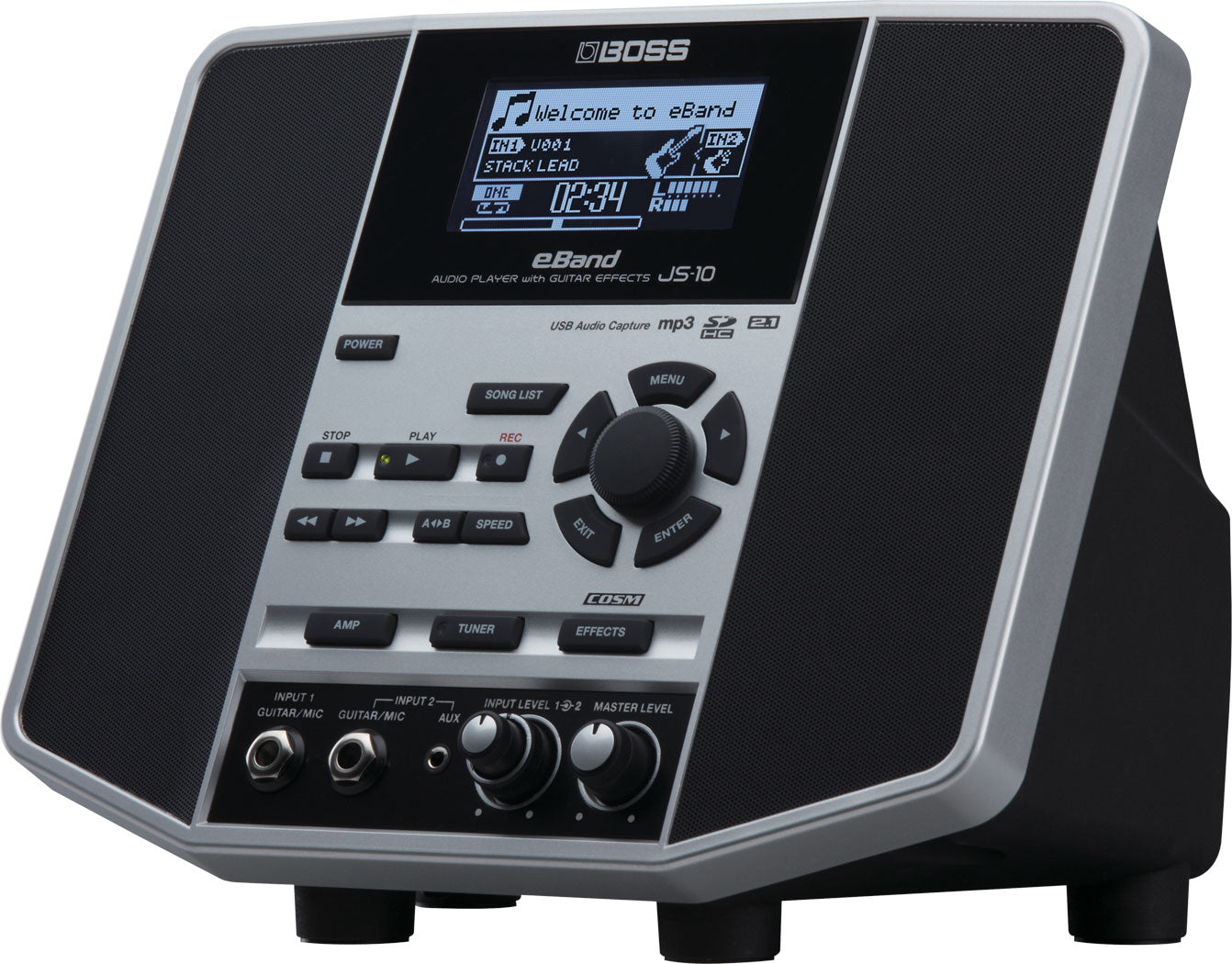 BOSS JS-10 EBAND - AUDIO PLAYER & EFFECTS