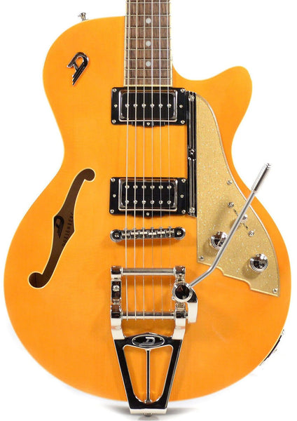 DUESENBERG STARPLAYER TV - TRANS ORANGE IN FORMFIT CUSTOM CASE