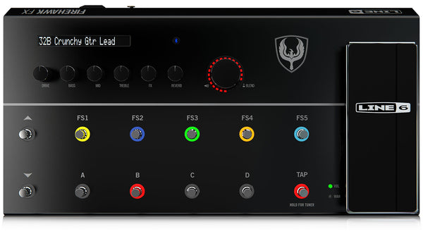 LINE 6 FIREHAWK FX - AMPS AND EFFECTS MODELLER