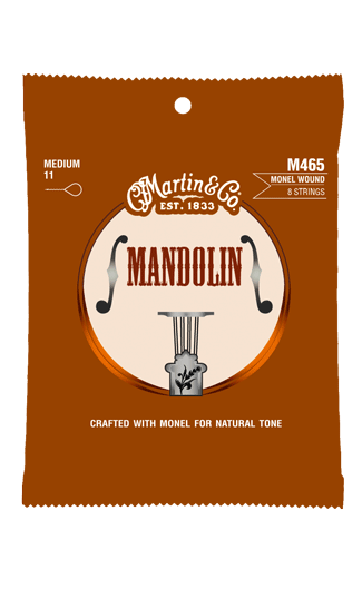 MARTIN & CO M465 MANDOLIN STRINGS - MONEL WOUND 11-40