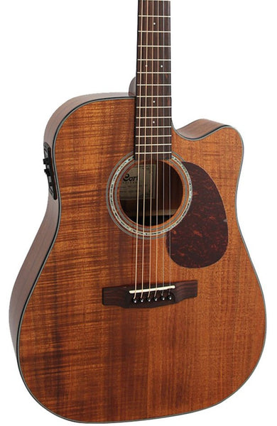 CORT MR710F-ABW ALL BLACKWOOD DREADNOUGHT