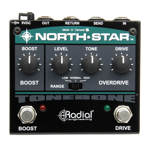 RADIAL NORTH STAR OVERDRIVE & BOOST