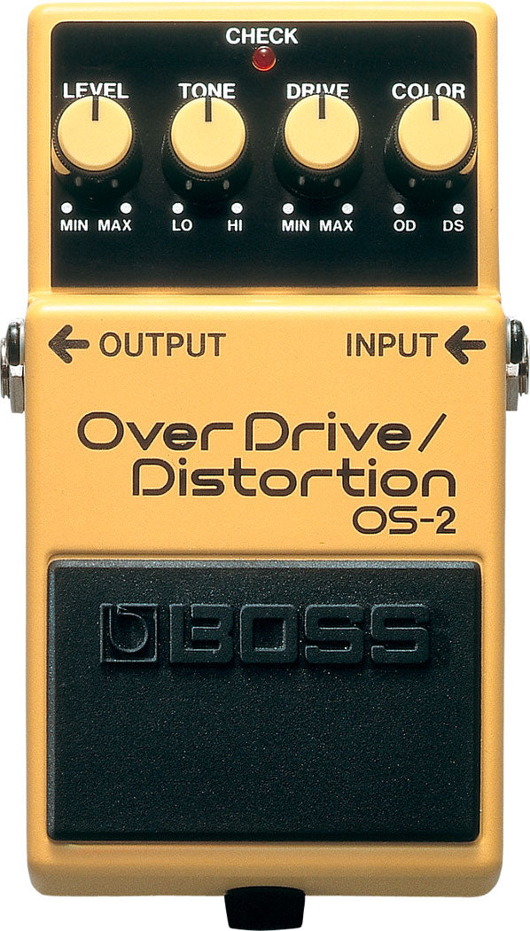 BOSS OS-2 - OVERDRIVE/DISTORTION