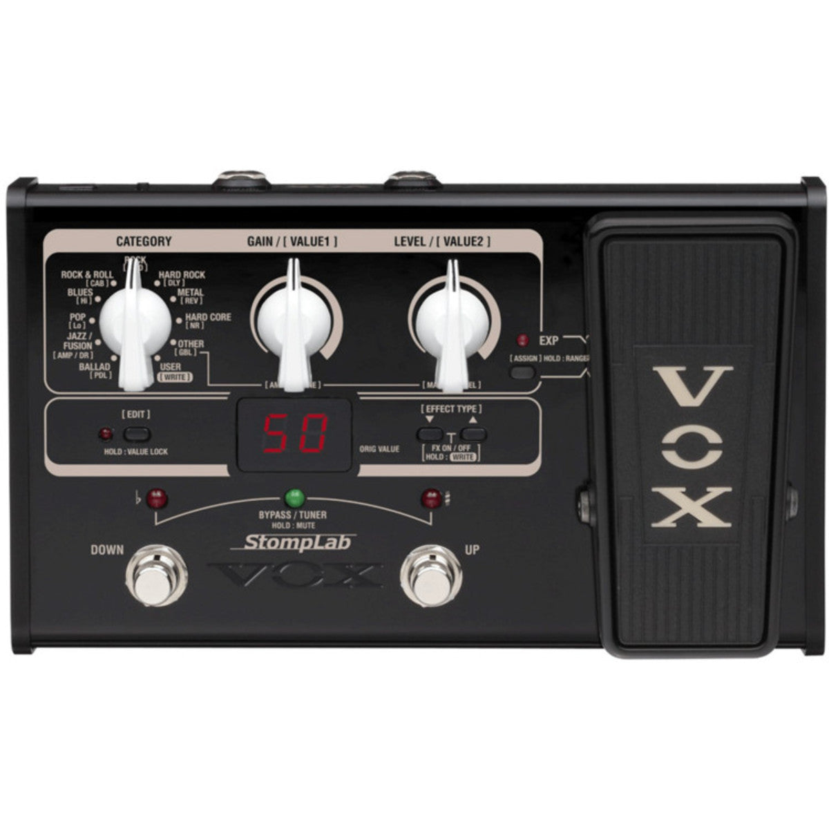VOX STOMPLAB IIG - MODELLING EFFECTS PEDAL FOR GUITAR