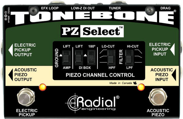 RADIAL TONEBONE PZ SELECT SIGNAL SWITCHER