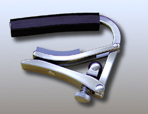 SHUBB DELUXE STEEL STRING GUITAR CAPO - S1 STAINLESS STEEL