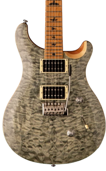 PRS SE CUSTOM 24 LIMITED ROASTED MAPLE - TRAMPAS GREEN