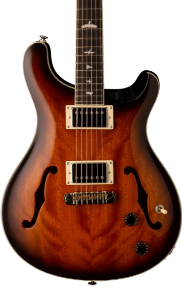 PRS SE HOLLOWBODY STANDARD - McCARTY TOBACCO SUNBURST WITH GIG BAG