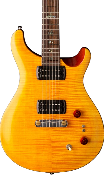 PRS SE PAUL'S GUITAR - AMBER WITH GIG BAG