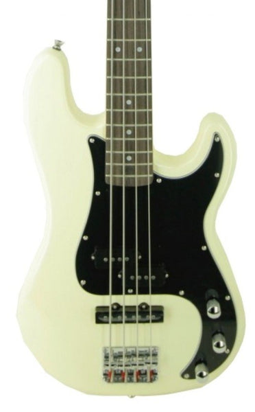 ESSEX PJ ELECTRIC BASS - VINTAGE WHITE
