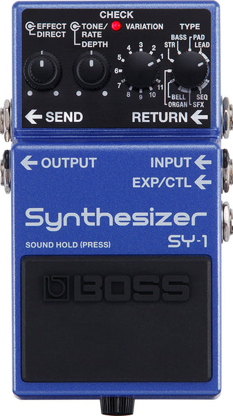BOSS SY1 - SYNTHESIZER GUITAR PEDAL