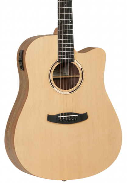 TANGLEWOOD TDBTDCEHR DISCOVERY DREADNOUGHT HAWAIIAN RAINWOOD