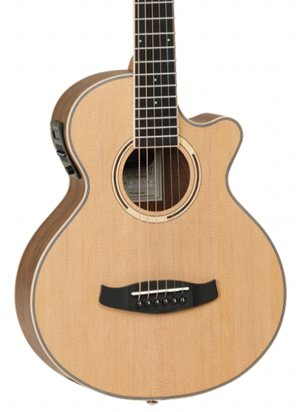 TANGLEWOOD TDBTTCEBW EXOTIC TRAVEL ACOUSTIC