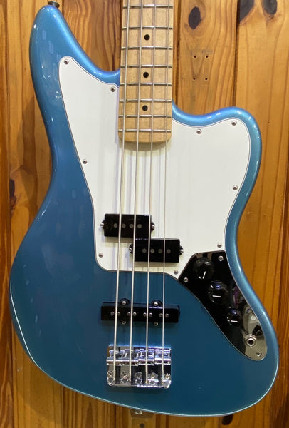 FENDER PLAYER JAGUAR BASS MN - TIDEPOOL BLUE (PRE-LOVED)